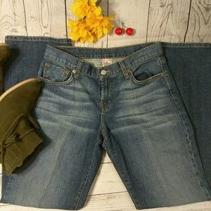 Lucky Brand Dungarees jeans sz 8